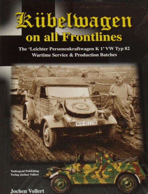 Kubelwagen on all Frontlines, by Jochen Vollert